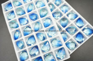 De nieuwe Buitensporige Stenen van het Kristal van het Punt van de Vorm van de Daling van het Ontwerp Achter (Traan)