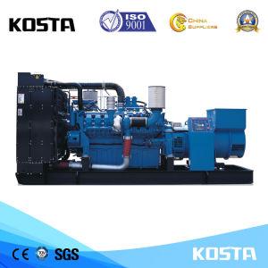 Heavy Duty excelente potencia de salida 1000kVA grupo electrógeno diesel de la MTU