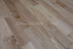 Roble europeo pulido natural mosaico de suelos de madera para la venta
