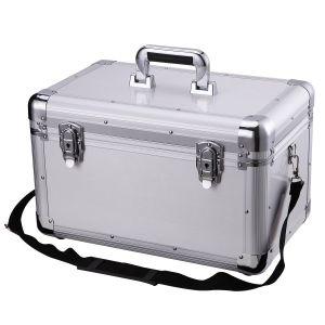 Los fabricantes al por mayor vanidad maleta personalizado hecho mecánico de almacenamiento de la caja de herramientas