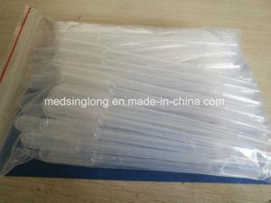 0.5ml、1ml、2ml、3mlの5ml Msll006の衛生検査隊の使い捨て可能なプラスチックPasteurのピペット