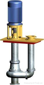 수직 원심 슬러리 펌프 (4R-SPR)