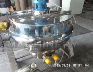 Acciaio inossidabile che inclina la caldaia della camicia di riscaldamento che cucina caldaia per inserimento (ACE-JCG-1G)
