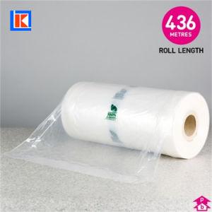 도매 청결한 LDPE 주문 인쇄 복장 의복 롤
