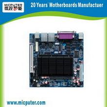 I10 Motherboard Aan boord van Itx van de Kern van het Atoom van Intel van Intel D525 1giga 6COM 12V gelijkstroom van itx-M52X62B D525 Dubbele