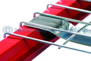 Rack de palete de armazenagem do depósito um deck de malha de arame