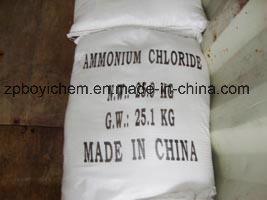 De fabrikanten leveren het Chloride van het Ammonium van de Rang van het Voedsel