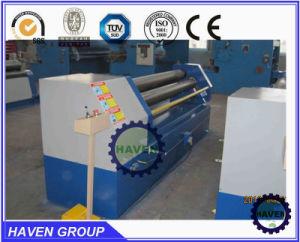 Asymetrische mechanische Metallplattenwalzen-Maschine drei Rollen-W11F-6X2000,