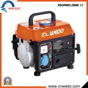 Wd950 2 치기 손 시작 홈 사용 650W DC를 가진 휴대용 가솔린 발전기