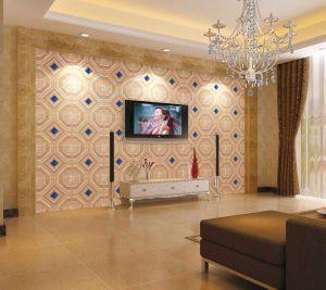 Decorative 3D de panneaux muraux en similicuir 1051-3