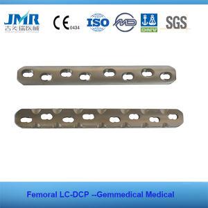 Implantes ortopédicos fémur la placa de compresión de bloqueo de la placa de bloqueo de la LCP