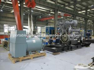 Cummins Engine (250kVA-1500kVA)著動力を与えられる無声ディーゼル発電機