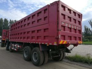 Gebruikte/Tweede Hand HOWO /Shacman 6X4, 8X4 10 de Vrachtwagen van de Stortplaats van Wielen Wheels/12/de Vrachtwagen van de Kipwagen/de Vrachtwagen van de Kipper/Tippende Vrachtwagen/Dumpende Vrachtwagen in Voorraad