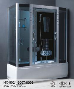 1500*850 Alto gris Bandeja Bandeja rectangular de cristal de ducha