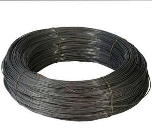 Fio de ligação preto fio anelada para construção