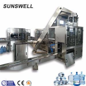 Automatische het Vullen van het Water van het Vat van 5 Gallon Spoelende het Afdekken Machine