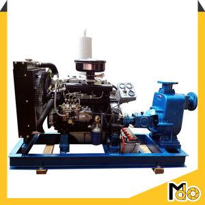 Pomp van de Riolering Primining van de dieselmotor de Centrifugaal Zelf