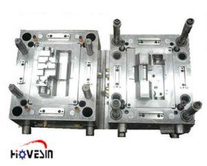 Stampaggio ad iniezione di plastica automatico della maniglia di portello
