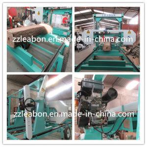 大きい木製の切断のディーゼル機関の水平の帯鋸の製材所装置