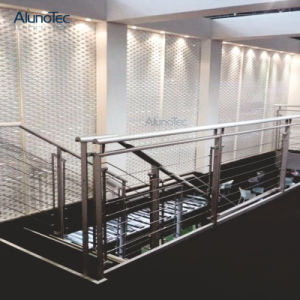 Hol-uit de Grill van het Netwerk van het Aluminium van de Decoratie voor Tuin