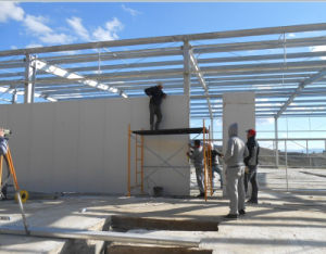 La luz de la fabricación de acero industrial general Marco estructura del edificio (KXD-SSB14)