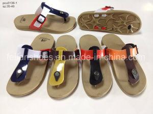 Cómoda casa mujer Zapatillas casual sandalias zapatos (YG828-1)