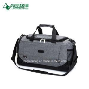 肩の縞が付いている安い拡張可能大きい多機能ポリエステル旅行袋