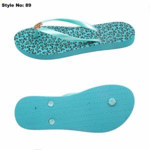 Les sandales Lady pantoufles PE Tongs femmes Flip Flop