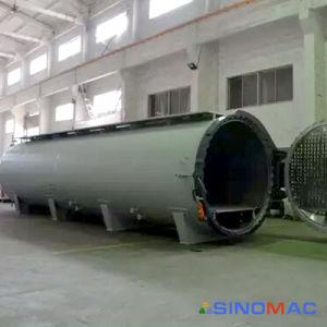 2800x4500мм PED стандартной системы отопления резиновые Vulcanization пара в автоклаве и