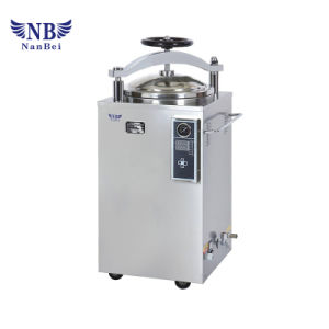 China 75L Laboratorio Autoclave vertical con CE