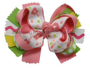 Cinta de Grosgrain sólido Cabello Boutique arcos clips para el bebé niñas niños