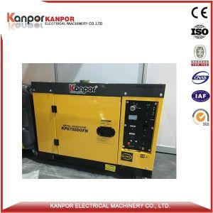 5kVA AC van de Enige Fase 4.5kVA de Diesel van de Output Gekoelde Lucht van de Generator