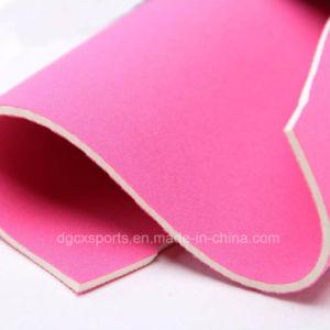 Rolo de borracha de Neoprene de alta qualidade tecido colorido laminado