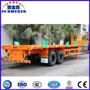 반 3개의 차축 콘테이너 화물 수송기 트럭 트레일러