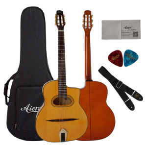 La marca artesanal Acousti Aiersi Vintage gitana guitarra guitarra