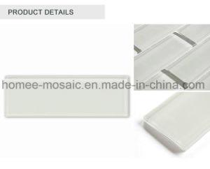 Ne jamais s'estomper Stain-Resistant Crystal Clear Mosaïque de verre