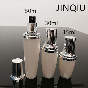 피부 토너, 향수, 향수를 위한 2oz 60ml 실린더 물 안개 살포 펌프 병