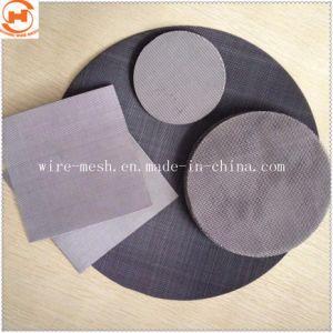 Нержавеющая сталь/черный провод фильтра тканью