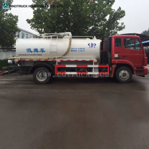 Resíduos de Esgoto de vácuo caminhão de sucção de água para venda