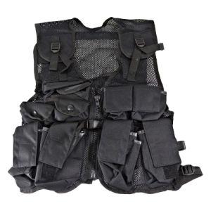 Veste tática à prova de balas da segurança do combate militar do escuteiro de Molle