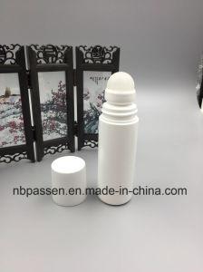 化粧品の包装のための白いプラスチックロールオンのびん(PPC-PRB-001)