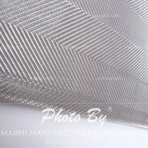 Tissus à mailles de filtre en acier inoxydable