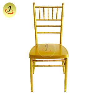 El apilamiento de Metal El restaurante del hotel boda banquetes silla Tiffany/ Presidencia / silla Chiavari