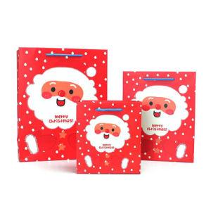 Sac en Papier sacs cadeaux de Noël pour Noël (YH-PGB043)
