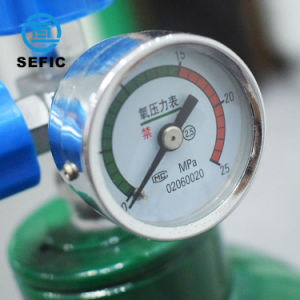 6.3L 알루미늄 합금 의학 산소 가스통