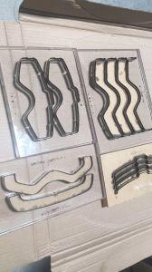 CNC meurent de puissance moyenne d'administration de la machine de coupe au laser