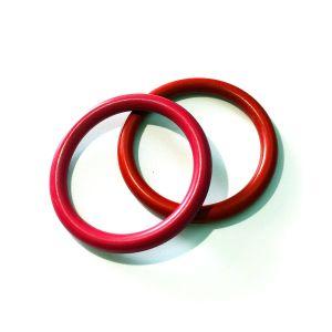 Couleur Noir personnalisé de haute qualité joint torique en silicone en caoutchouc