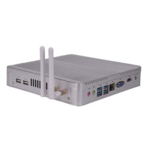 Suporte para vídeo HD sem ventilador Intel Mini PC que pode ser embutido no processador Intel Core i3/i5/I7 a 4ª~8 ª geração de processadores
