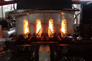 Tonva 4キャビティが付いているフルオートのプラスチックペット伸張のブロー形成機械