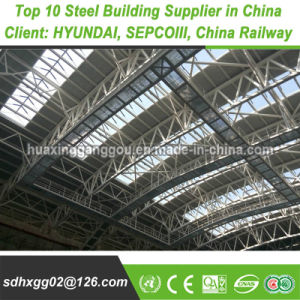 S355 Poids léger préfabriqués en métal doux structurelles Pre-Engineered principale structure de châssis de construction en acier lourdes (exportés 200, 000MT)